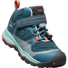 Keen Kids Terradora WP Mid Shoes aqua sea/coral